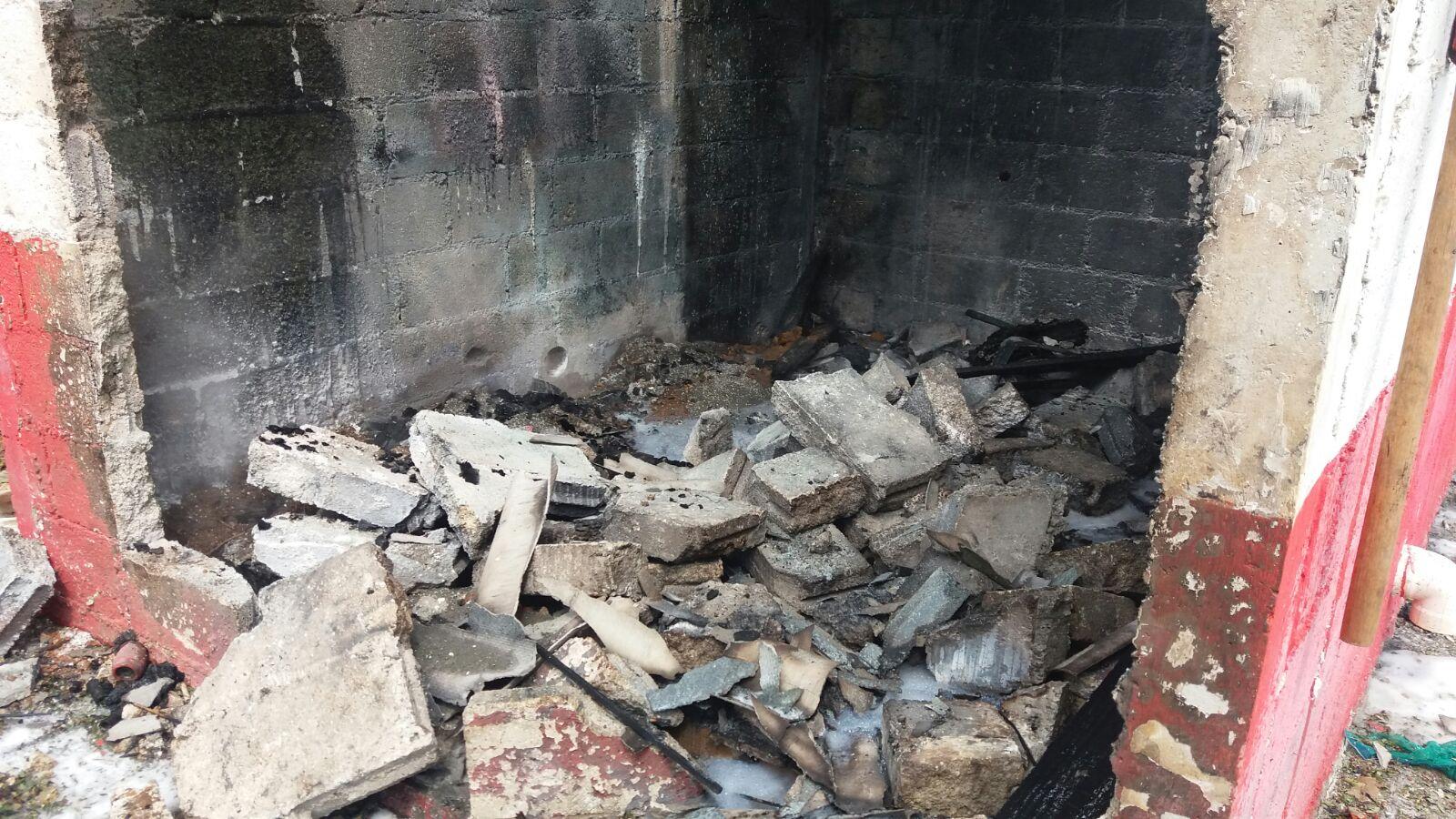 Polvorín quemado contaba con permiso de la SEDENA